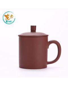 友余 - 手工紫砂水杯 (350毫升) (紫泥) TPC-07-BR