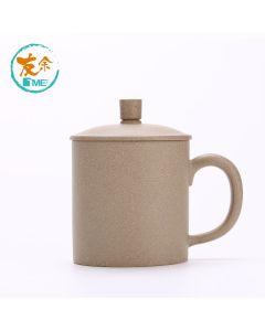 友余 - 手工紫砂水杯 (350毫升) (段泥) TPC-07-YE