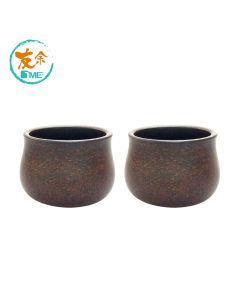 友余 - 手工紫砂小茶杯 (乙對 - 黑金剛泥) TPC-10-BKK