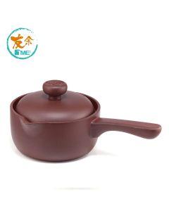 友余 - 紫砂養生單柄燉鍋 (1.6公升) (紫泥) TPC-16-PBR