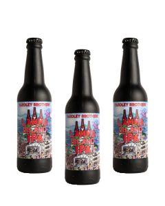 Yardley Brothers Brewery Lamma IPA 330ml x3 W00387