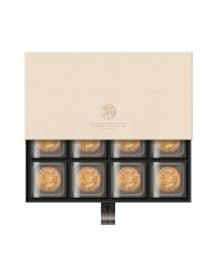 望月-酥皮奶黃月餅禮盒(8入) WY-CC01