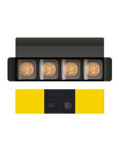 望月-流心奶黃月餅禮盒(4入) WY-LC02