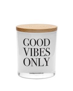 "Damselfly Collective""Good Vibes Only""  澳洲天然 ""Galaxy""果園白麝香香薰蠟燭400g XG34W"