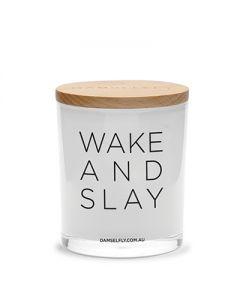 "Damselfly Collective""Wake and Slay""  澳洲天然 ""Galaxy""果園白麝香香薰蠟燭400g XG47W"