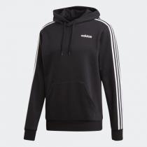 adidas Men Neo Essentials 3-Stripes 連帽衛衣黑色