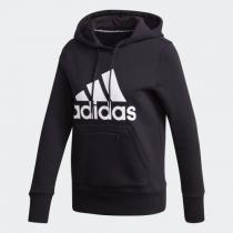 adidas Women Badge Of Sport Pullover Fleece 連帽衛衣黑色