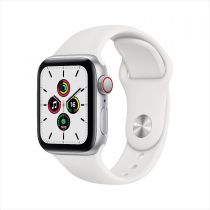 Apple Watch SE GPS + Cellular, Aluminum Case with Sport Band 2020