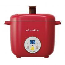 Recolte Healthy CotoCoto 日式電飯煲 (陶瓷內膽) - 紅色 CR-GOLSREC002-R