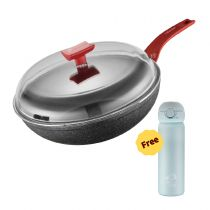 MONETA - IUNO SIENA 26cm frypan with glass lid M2001010326
