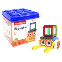 MagKinder -  Magnectic Toys (My First MagCoding Magnetic Set 151PCS) MK10013
