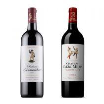 Chateau Clerc Milon 2010 + Chateau d'Armailhac  2010 (連 Vin Bouquet Wine Decanter FIA 166 x 1 個) PW_Pauillac10set