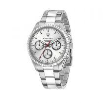Maserati Competizione Silver Steel Strap Men's Watches R8853100018 R8853100018