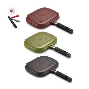 MOOV-3002-0114 HAPPYCALL - [韓國製造]Compact雙面鍋(3色選擇)(送HAPPYCALL夾子)