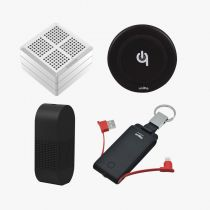 4 IN 1 TRAVEL KIT (WASHWOW MAGIC CUBE, FLEXTAILGEAR ATMOS PUMP, UNITY 3 IN 1 POWER BANK, UNITY KEY CHAIN POWER BANK)