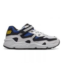 New Balance - Kids Lifestyle Pre Boys 850 White with Neo Classic Blue & Navy PV850YSCW