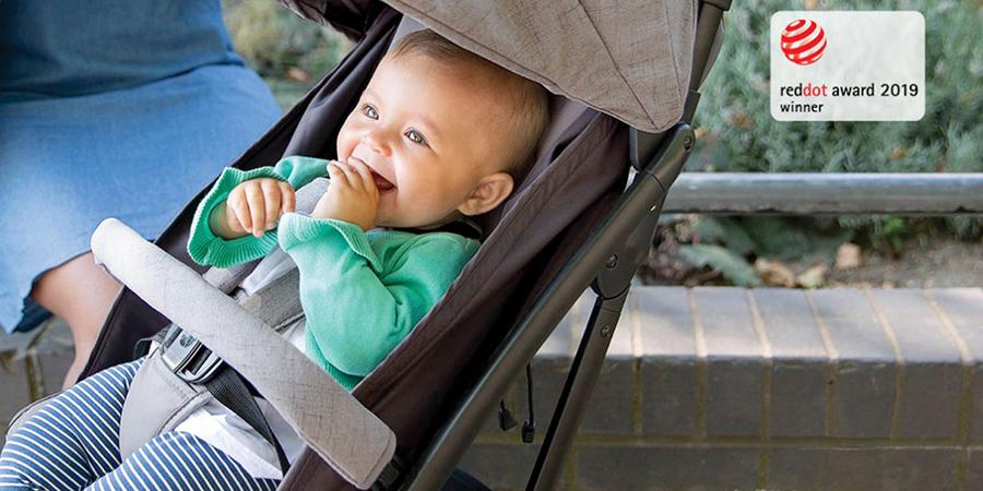 百變星君BB車.Red Dot得獎英國Joie Tourist™可摺式便攜嬰兒車
