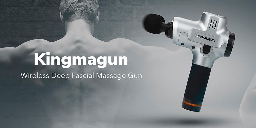 【試咗先講】60秒紓疲勞去痠痛!Kingmagun振擊按摩槍