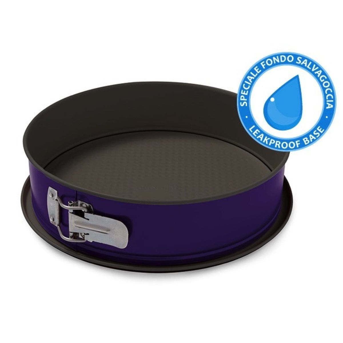GUARDINI - Smart Colors 26cm 彈簧扣平低焗盤 - 紫色