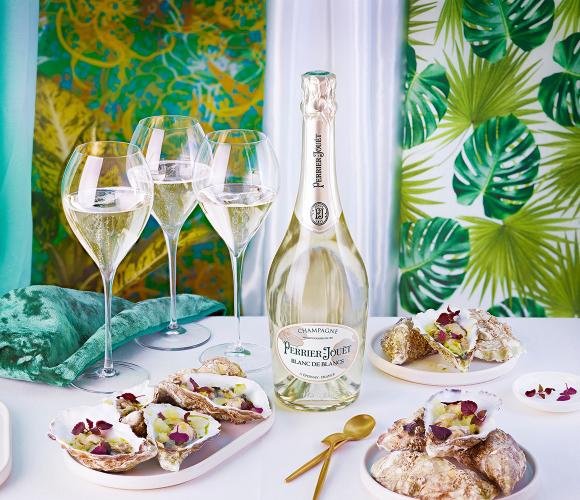 清新的巴黎之花白中白香檳適合配搭海鮮享用,突出鮮味